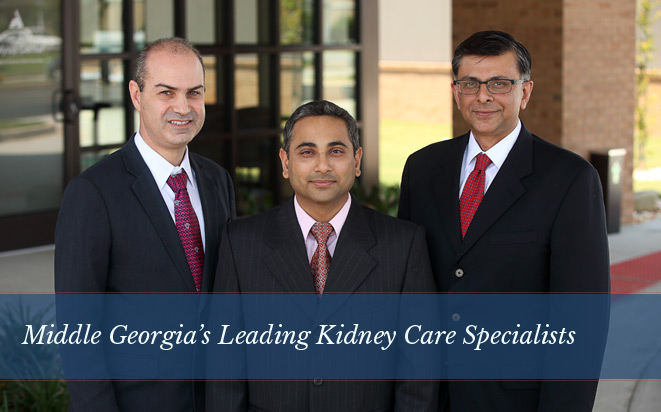 Middle Georgia's Leading Kidney Care Specialists