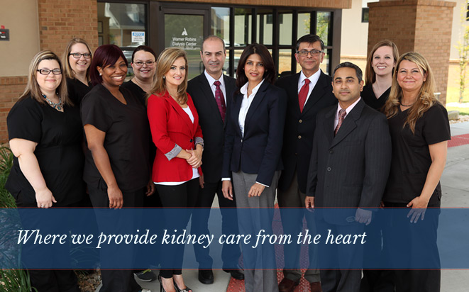 Welcome to Hypertension and Kidney Associates, where we provide kidney care from  the heart.
